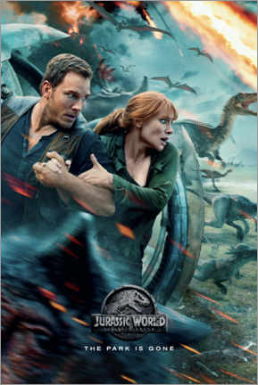 Premium-plakat  Fallen Kingdom - The escape