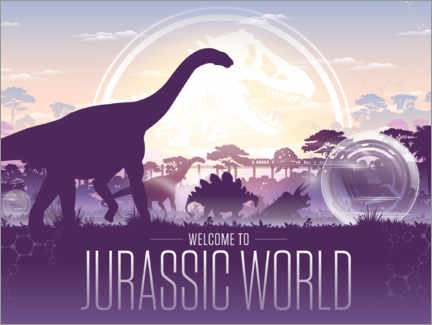 Premium-plakat  Welcome to Jurassic World