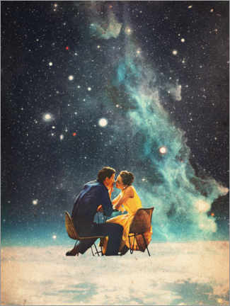 Akrylbillede  I'll Take you to the Stars for a second Date - Frank Moth