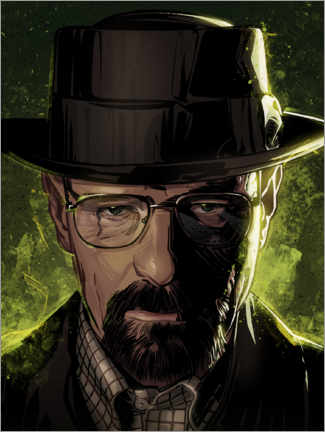 Premium-plakat Breaking Bad