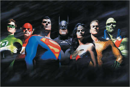 Lærredsbillede  Justice League - The Original Seven