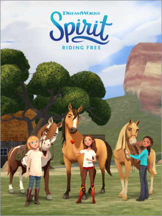 Premium-plakat  Spirit Riding Free - Trio