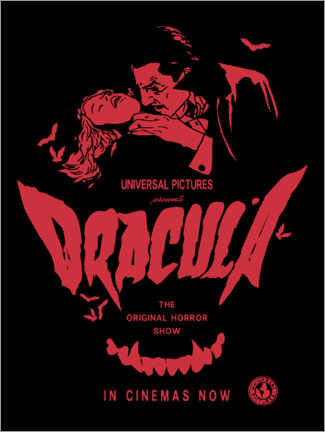 Print på aluminium  Dracula - The Original Horror Show