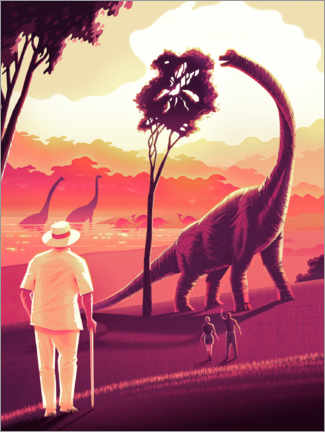 Premium-plakat  Welcome to Jurassic Park
