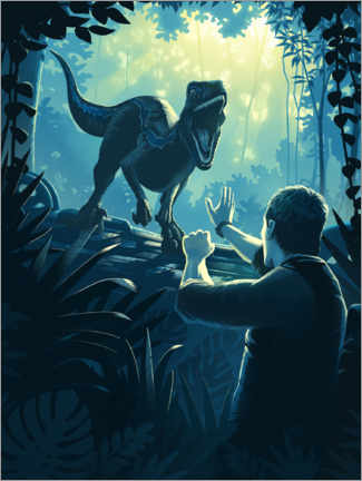 Premium-plakat  Fallen Kingdom - Remember me?