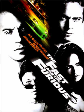 Premium-plakat  The fast and the furious