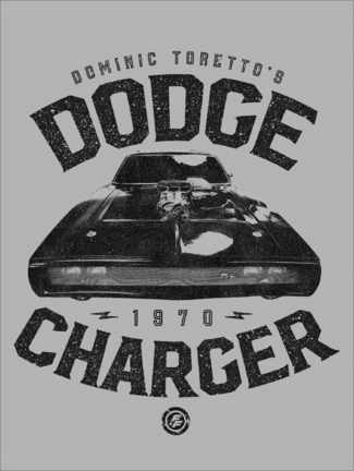 Akrylbillede  Domenic Toretto's Dodge Charger