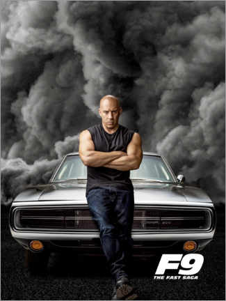 Akrylbillede  F9 - Dominic Toretto