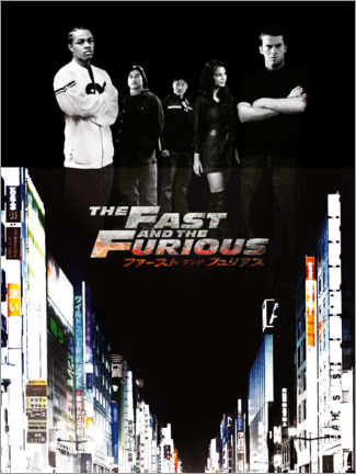 Akrylbillede  The Fast and the Furious - Tokyo drift