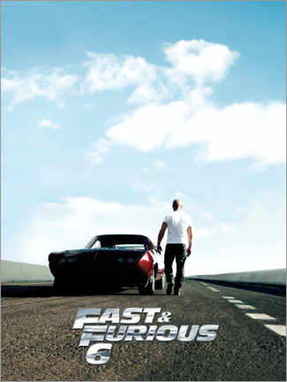 Akrylbillede  Fast & Furious 6 - Dominic Toretto