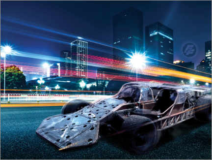 Premium-plakat  The Fast and the Furious - City Lights