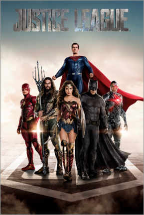 Akrylbillede  DC Justice League Movie poster