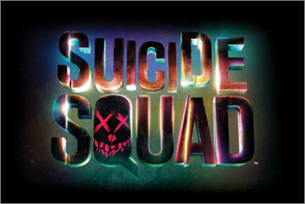 Galleritryk  Suicide Squad - Neon sign
