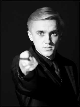 Premium-plakat  The Half-Blood Prince - Draco Malfoy wand portrait