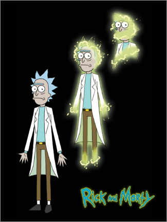 Akrylbillede  Rick and Morty - Rick