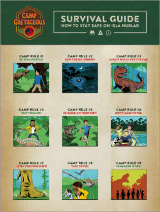 Premium-plakat  Survival Guide