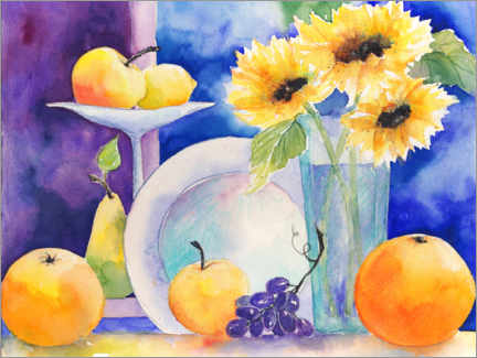 Galleritryk  Fruit still life - Jitka Krause