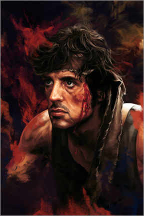 Akrylbillede  Rambo (First Blood) - Dmitry Belov