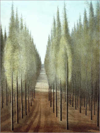 Akrylbillede  Fire way - Léon Spilliaert