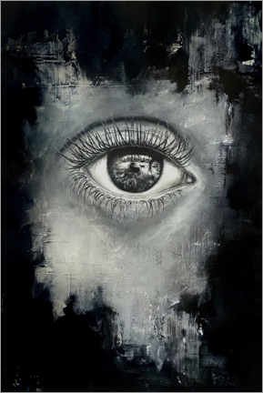 Akrylbillede  The eye of the beholder - Erika Viklund