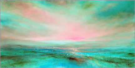 Premium-plakat The light, pink and turquoise