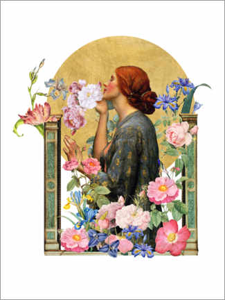 Premium-plakat The Soul of the Rose - Collage