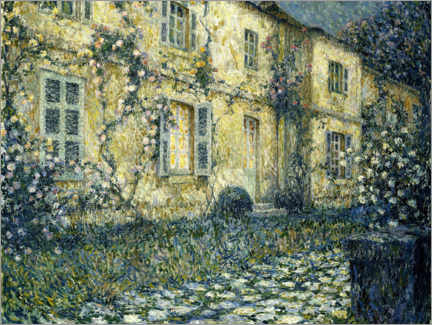 Premium-plakat  The summer house - Henri Le Sidaner