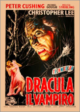 Selvklæbende plakat  Dracula, il vampiro (italiensk) - Entertainment Collection
