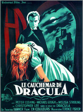 Selvklæbende plakat  Dracula (fransk) - Entertainment Collection
