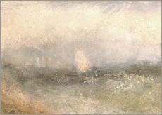 Galleritryk  Off the Nore: Wind and Water - Joseph Mallord William Turner