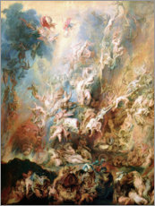 Lærredsbillede  The Fall of the Damned - Peter Paul Rubens