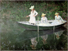 Galleritryk  The Boat at Giverny - Claude Monet