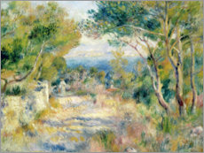 Galleritryk  L'Estaque - Pierre-Auguste Renoir