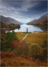 Galleritryk  Glenfinnan Monument - Scotland - Martina Cross
