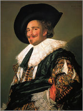 Galleritryk  The Laughing Cavalier - Frans Hals