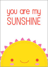 Galleritryk  You are my sunshine - Kat Kalindi Cameron