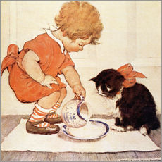 Galleritryk  A Little Childs Book of Stories 2 - Jessie Willcox Smith