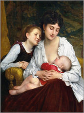 Galleritryk  Motherly Love - Leon Bazile Perrault