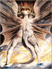 Galleritryk  The Great Red Dragon and the Woman Clothed with Sun - William Blake
