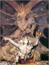 Galleritryk  The Number of the Beast is 666 - William Blake