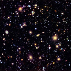 Galleritryk  Hubble Extreme Deep Field - NASA