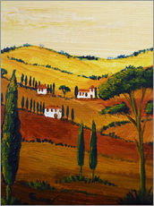 Galleritryk  Tuscany Mini - Christine Huwer