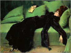 Galleritryk  After the ball - Ramon Casas i Carbo