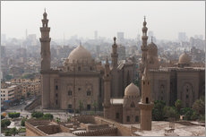 Selvklæbende plakat  Mosque of Sultan Hassan in Cairo old town, Cairo, Egypt, North Africa, Africa - Martin Child