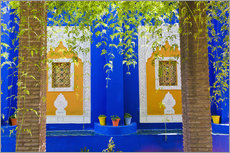 Galleritryk  Windows in the Majorelle Gardens - Matthew Williams-Ellis