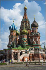 Galleritryk  St. Basil's Cathedral, Moscow - Michael Runkel