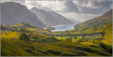 Galleritryk  Glenfinnan Railway Viaduct - Alan Copson