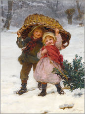 Galleritryk  Christmas time - Frederick Morgan
