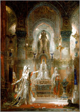 Galleritryk  Salome Dancing before Herod - Gustave Moreau