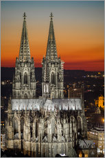 Galleritryk  cathedral of cologne - rclassen